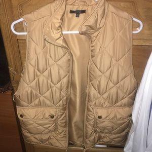 Tan vest from Francesca's